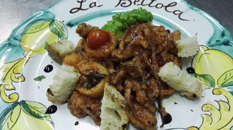 Calamari patate pomodorino pachino