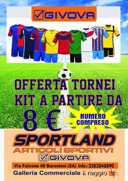 Offerta tornei kit a partire da 8 € numero compreso