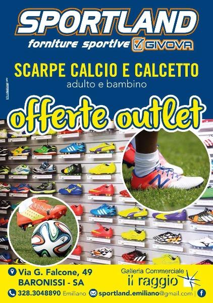Offerte Outlet Scarpe Calcio e Calcetto