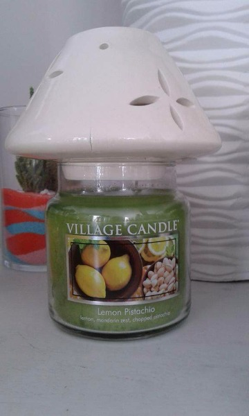 Fragranza lemon e pistacchio