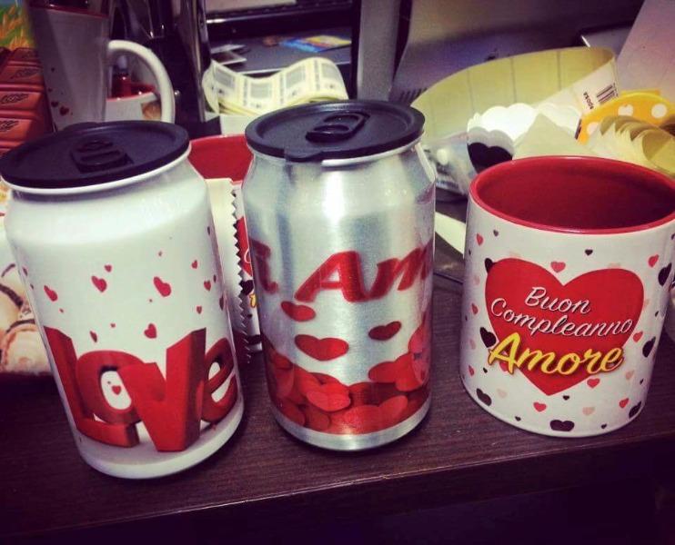 Personalizziamo tazze e lattine per ogni occasione