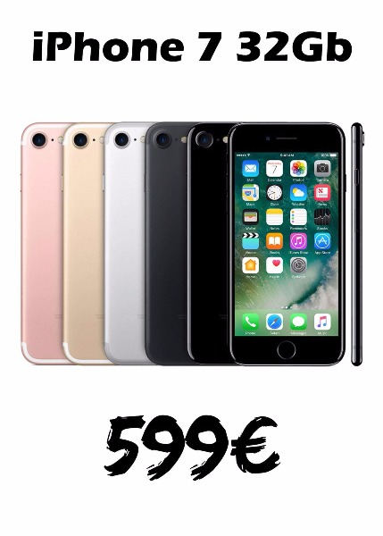 iphone 7 32gb 599 €