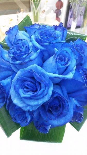 Promessa di Matrimonio in Blue