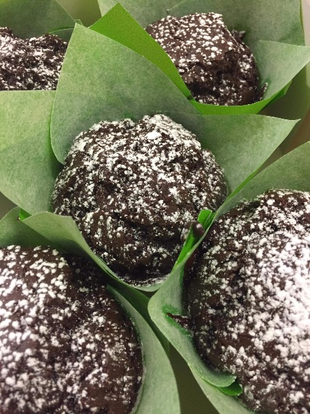 Vegan Muffin al cioccolato belga