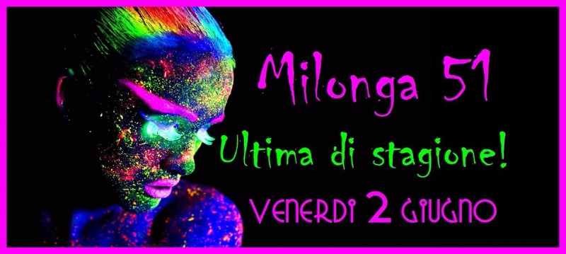 Tutti i venerdì La Milonga 51 La Salernitana