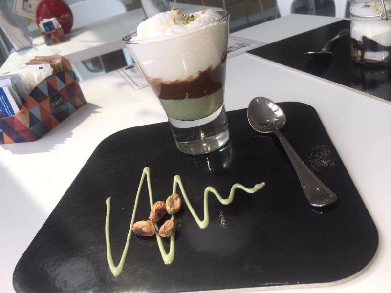Pistacchio, caffè, cioccolato e ricotta di nostra produzione