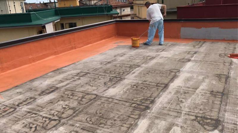 Protezione manto bituminoso lastrico di copertura condominio