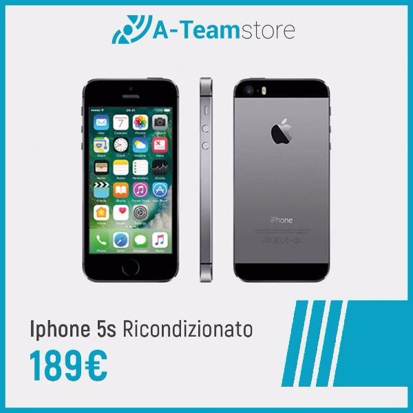 iPhone 5s ricondizionato a soli 189€