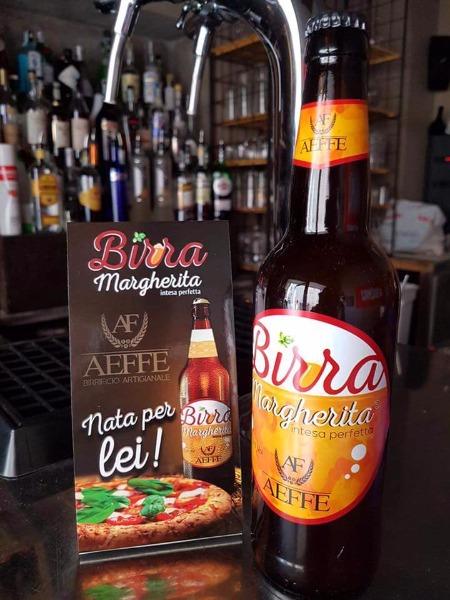 Solo da noi puoi bere la birra Margherita