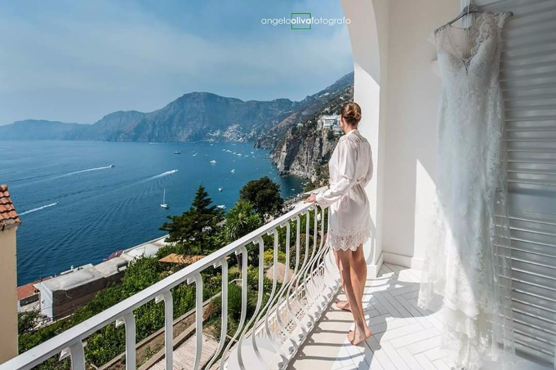 The Bride in Amalfi Coast