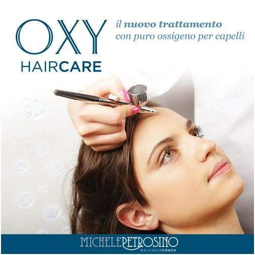 OXY HAIRCARE il nuovo trattamento con puro ossigeno per capelli