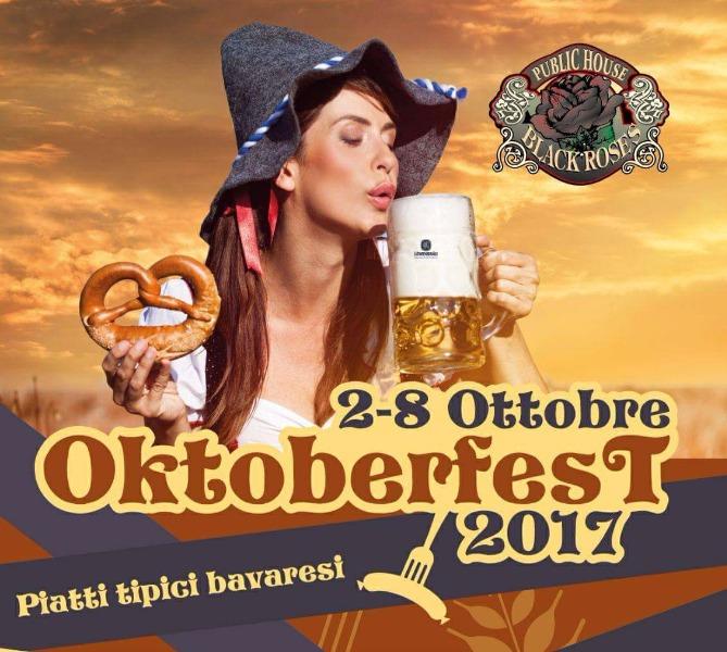 Dal 2 al 8 ottobre OKTOBERFEST 2017