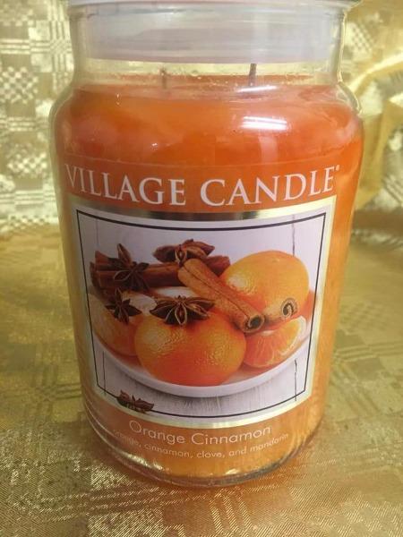 Village Candle Orange cinnamon