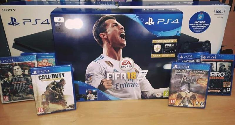 Disponibili le versioni limited edition ps4. Edizione con Fifa