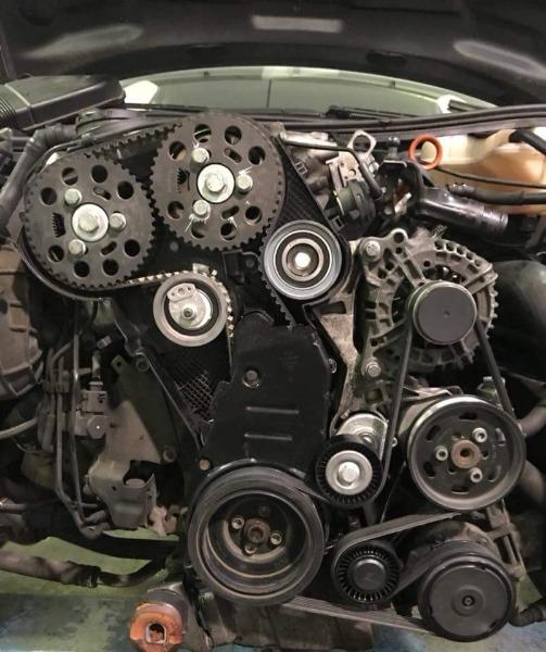 La prevenzione è importante anche per la tua auto... Controlla e sostituisci la cinghia e tutti gli apparati della distribuzione.