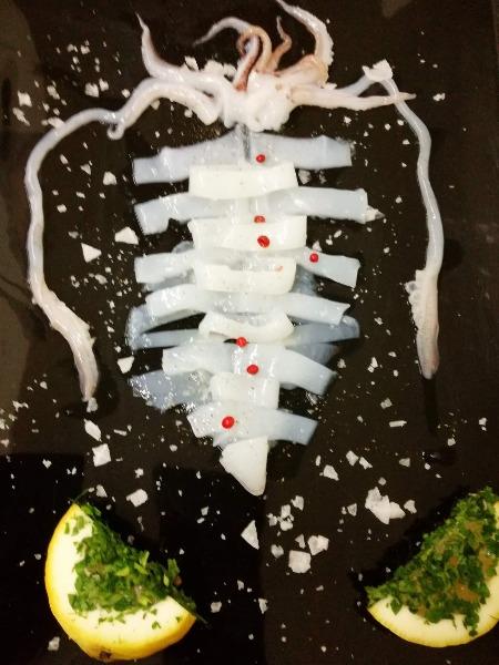 Calamaro dei mari nostri. Freschissimo