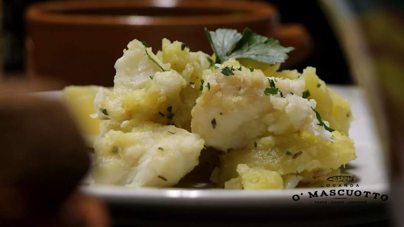il nostro baccalà e patate