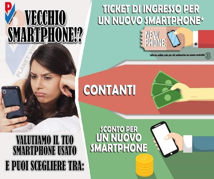 Portaci il tuo vecchio smartphone