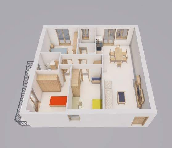 Vendesi Loc. Bivio Pratole Appartamento in parco di nuova costruzione