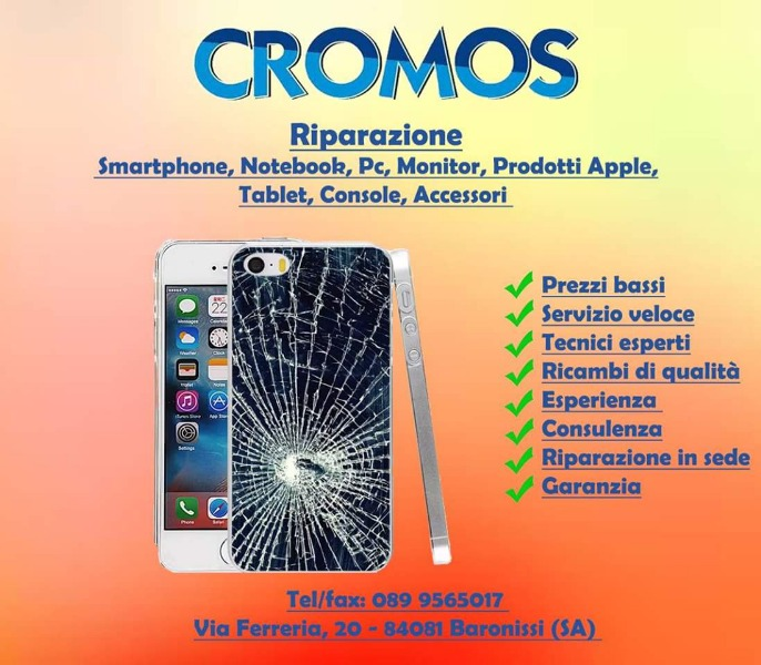 Riparazione smartphone, notebook, pc, monitor, prodotti Apple, tablet, console, accessori