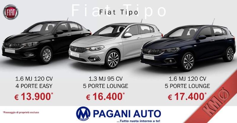 Offerte Fiat Tipo a KM zero