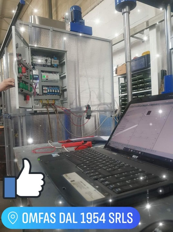 In collaborazione con la SGA automazione in corso su tutta la nostra PRODUZIONE