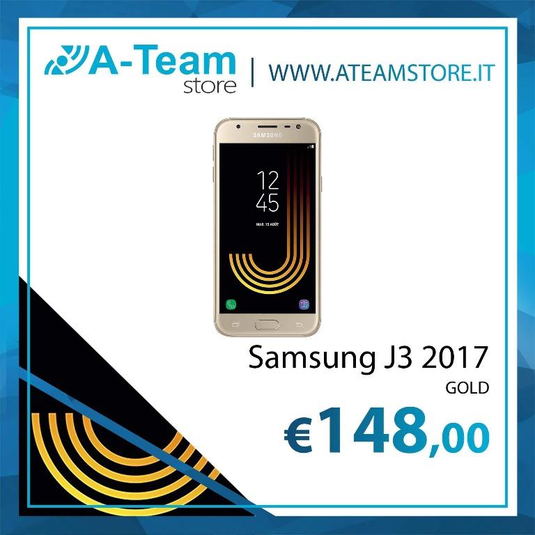 Samsung J3 2017 gold 148€