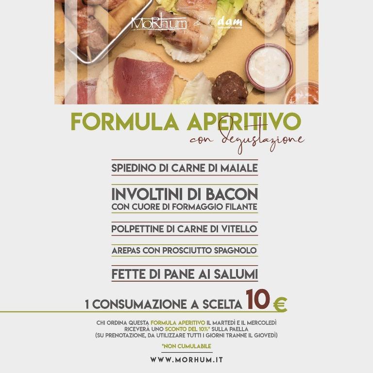 Formula aperitivo 10€