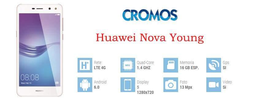 Huawei Nova Young a 99 euro