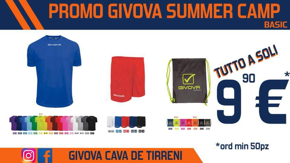 Promo Givova summer camp