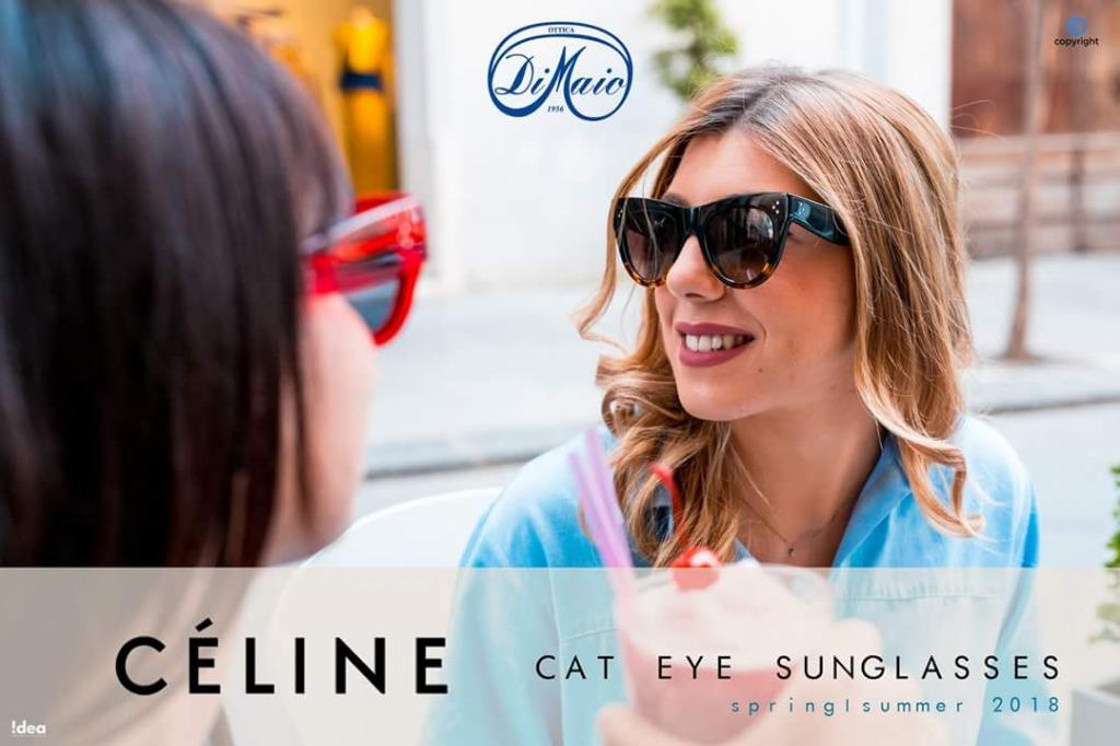 Celine, Cat Eye Sunglasses | Spring Summer 2018