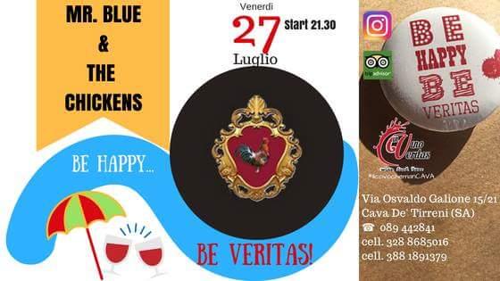 27 luglio MR. BLUE & THE CHICKENS live