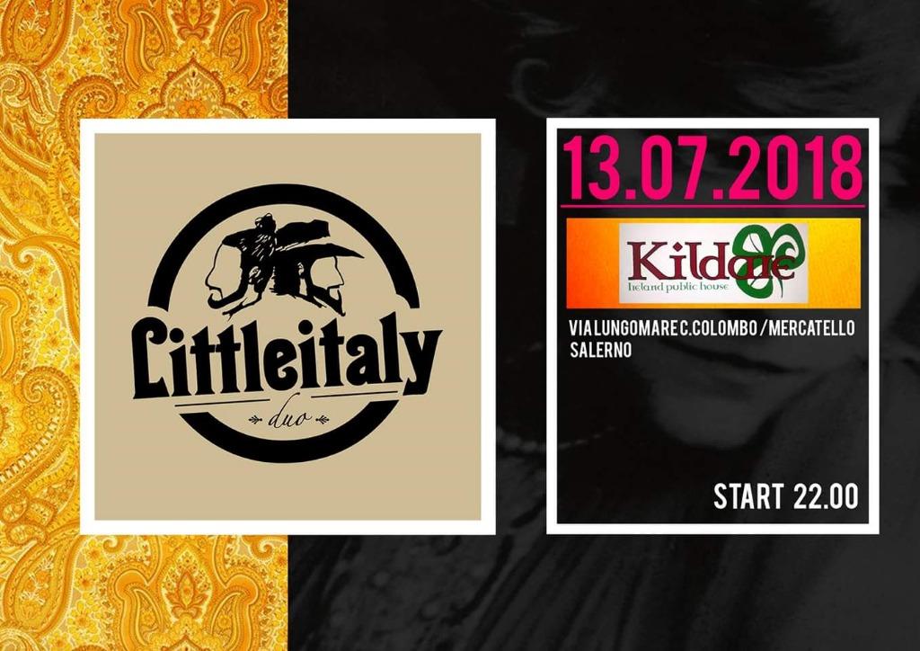 13 luglio LITTLE ITALY duo live