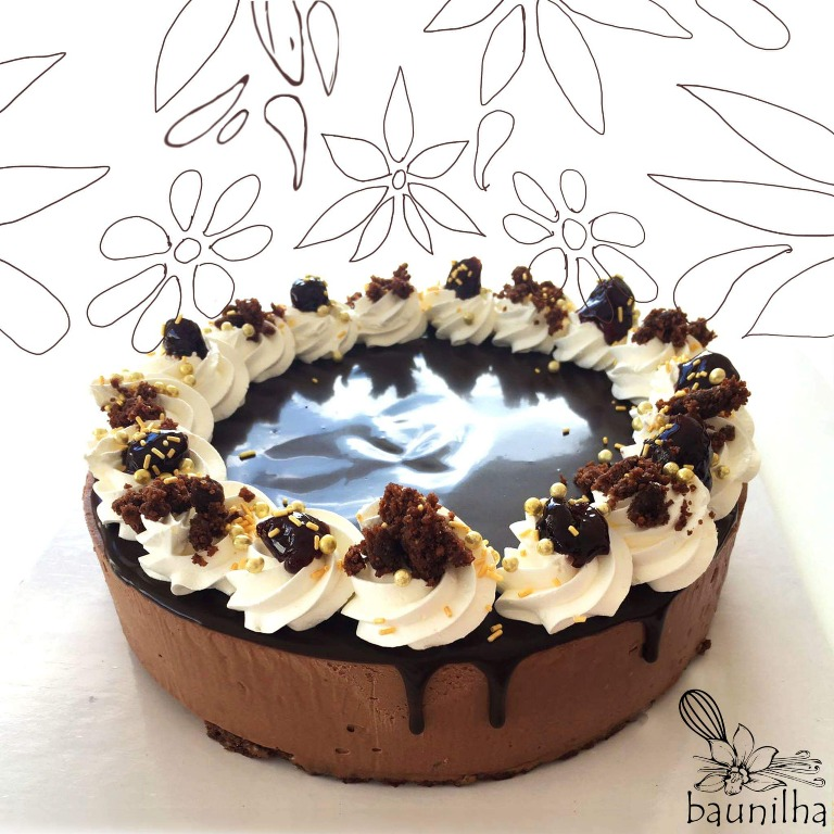La celebre torta Foresta Nera rivisitata in chiave moderna