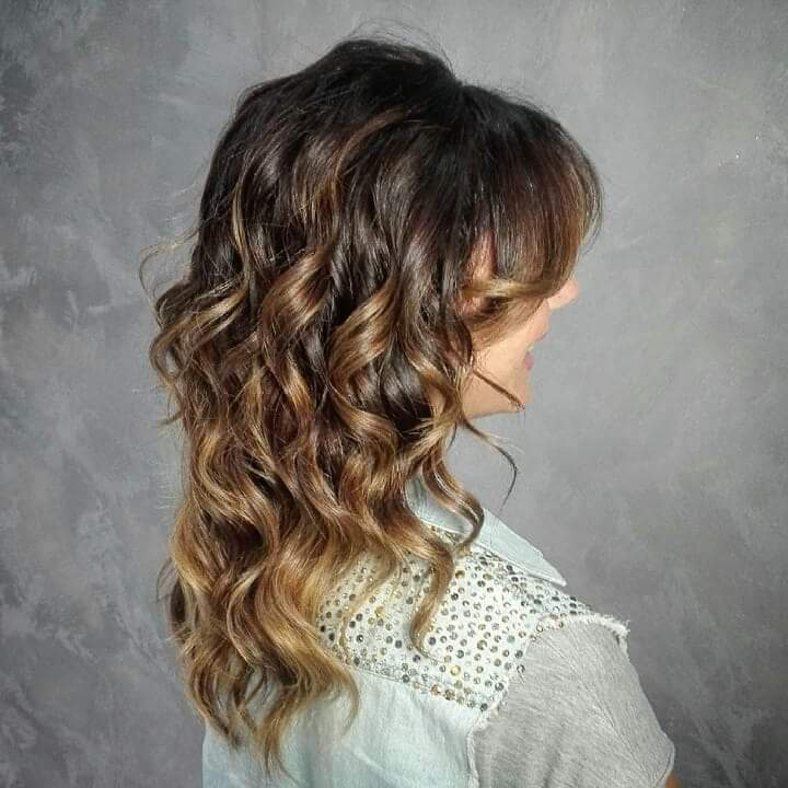 Waves haircolour Balayage
