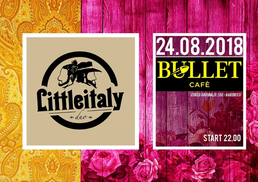 24 agosto LITTLE ITALY live music
