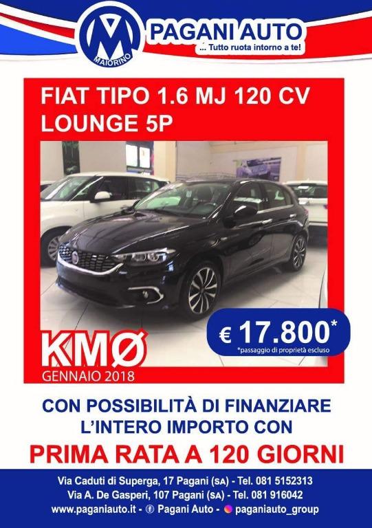 Fiat Tipo 1.6 MJ 17800€