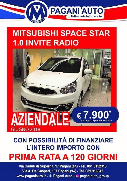Mitsubishi Space Star aziendale 7900 €