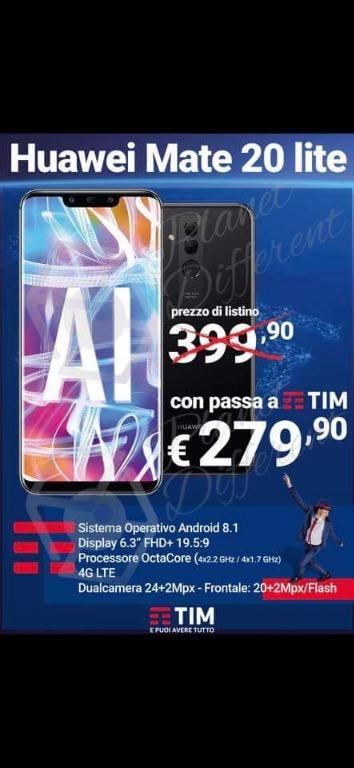 Huawei Mate 20 lite € 279,90