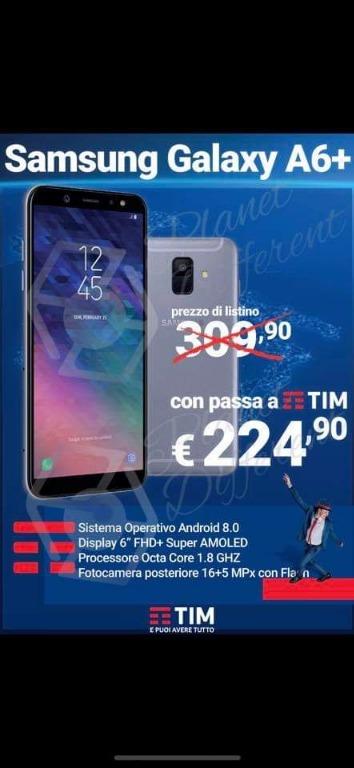 Samsung Galaxy A6+ € 224,90