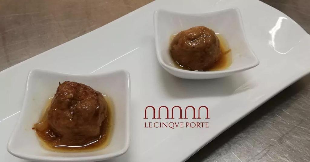 Non perderti il nostro entrée di gustose polpettine rigorosamente homemade!