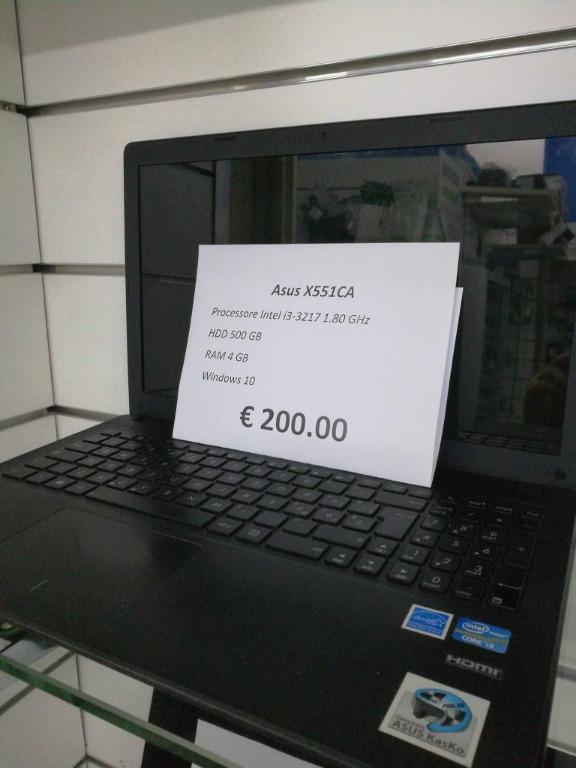 Asus X551CA € 200