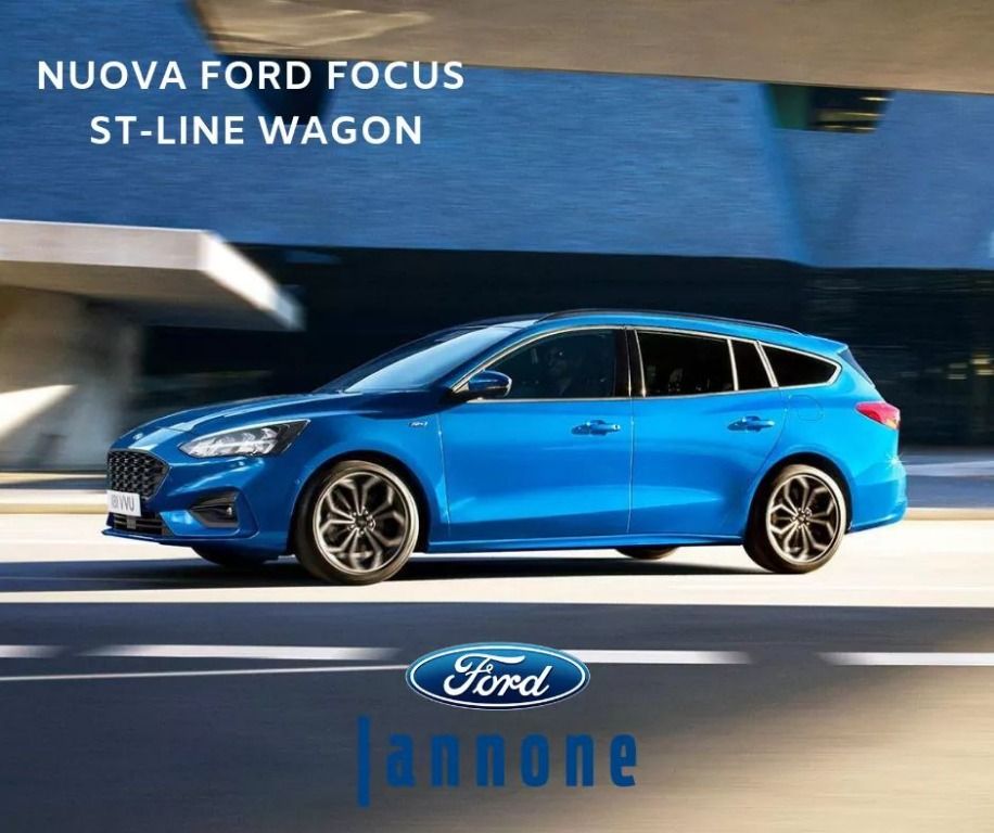 Nuova Ford Focus ST-line wagon