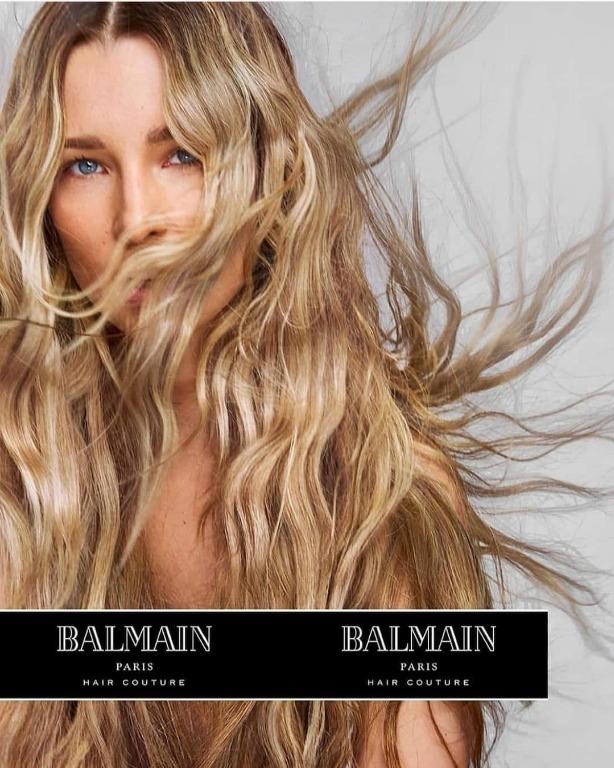 Balmain hairextensions per un effetto volume e lunghezza istantanea, correzione taglio