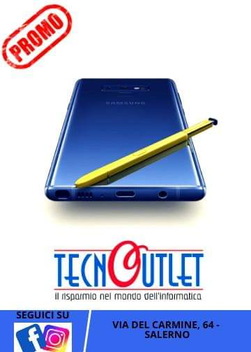 OFFERTA - Samsung Galaxy Note 9 a 675 euro