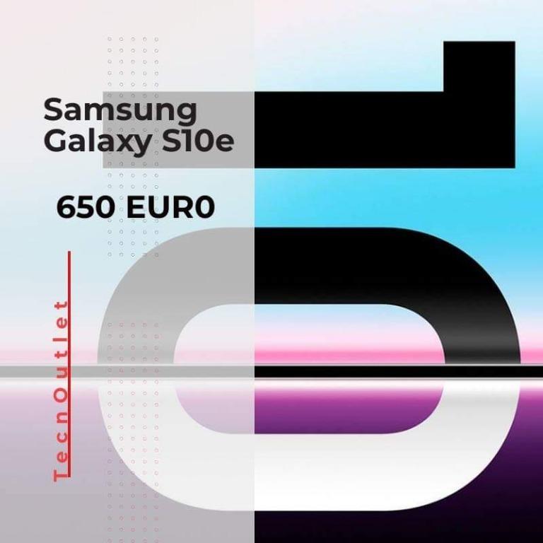 Samsung Galaxy S10e € 650