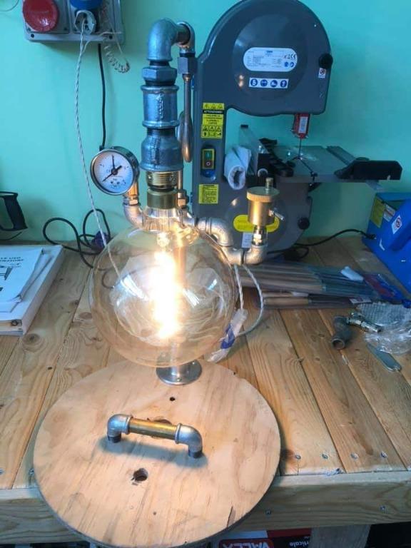 Lampada Industrial Design