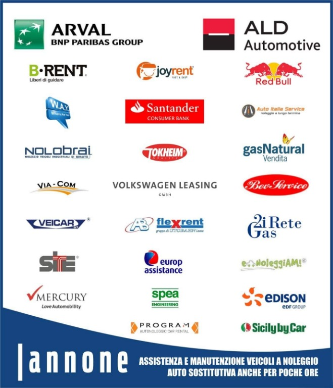 Assistenza e manutenzione ai veicoli dei più importanti marchi di noleggio