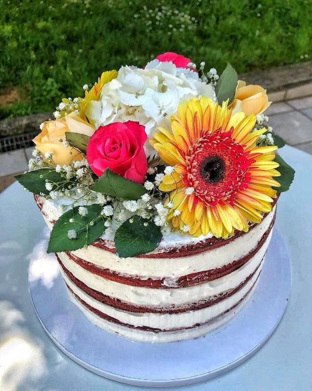 È una torta o un bouquet di fiori