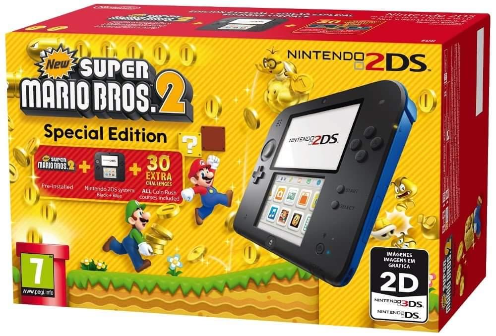Offerta SOTTOCOSTO - Nintendo 2DS con Super Mario Bros 2 €89.99